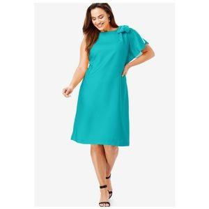 🆕 Jessica London Bow Embellished Dress Sz 20W
